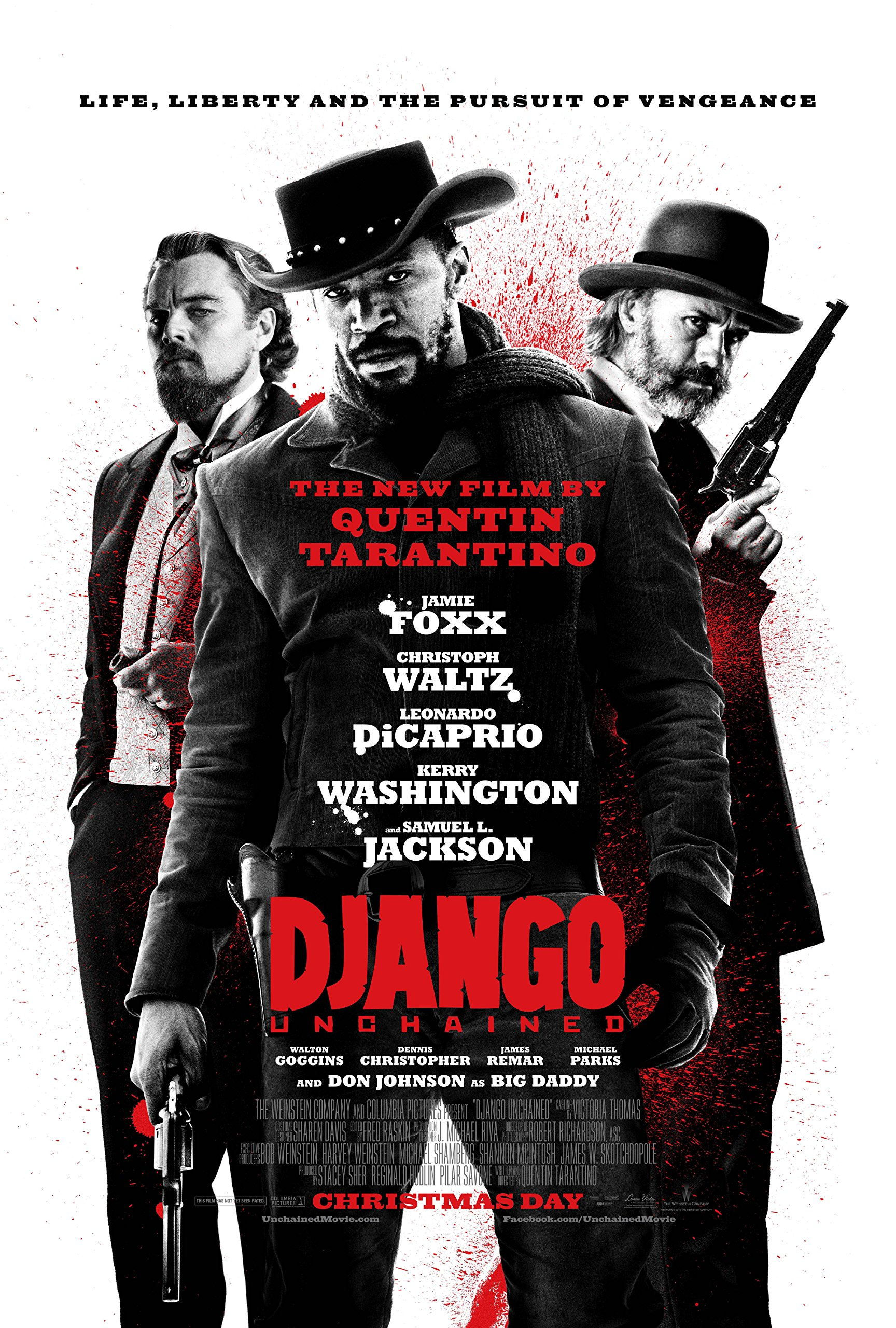 Posters USA - Django Unchained Movie Poster GLOSSY FINISH) - MOV159 (24'' x 36'' (61cm x 91.5cm))