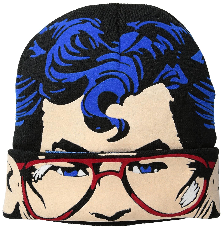 Superman HAT メンズ One Size ブラック B00N5UPN0E