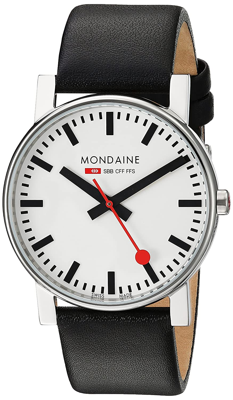 Mondaine Herren-Armbanduhr SBB Evo 38mm Analog Quarz A660.30344.11SBB
