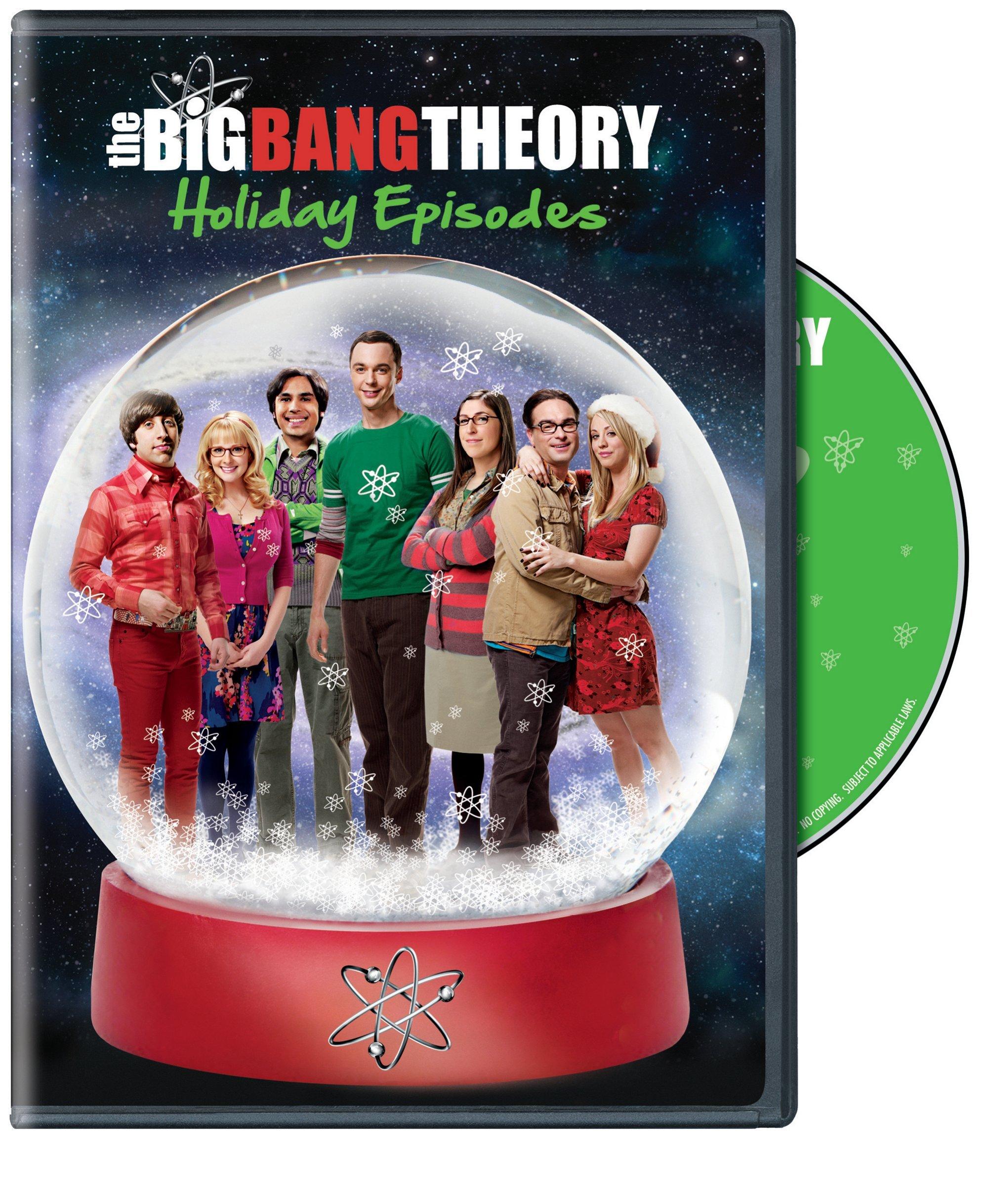 DVD : Big Bang Theory: Holiday Compilation (Eco Amaray Case, )