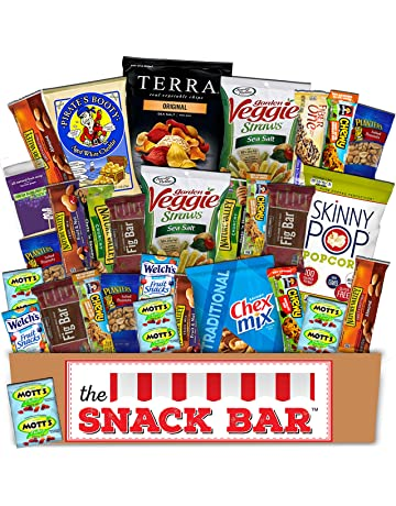 Healthy Snack Care Package 30 Count A Gift Crave Box With Variety