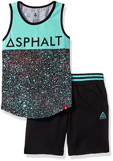 Asphalt Yacht Club Boys Tank /& Short Set