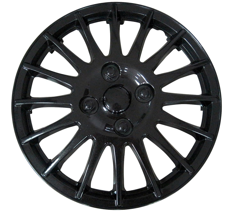 Brookstone Ignition 14-inch Wheel Trim Set Black 4 Pieces