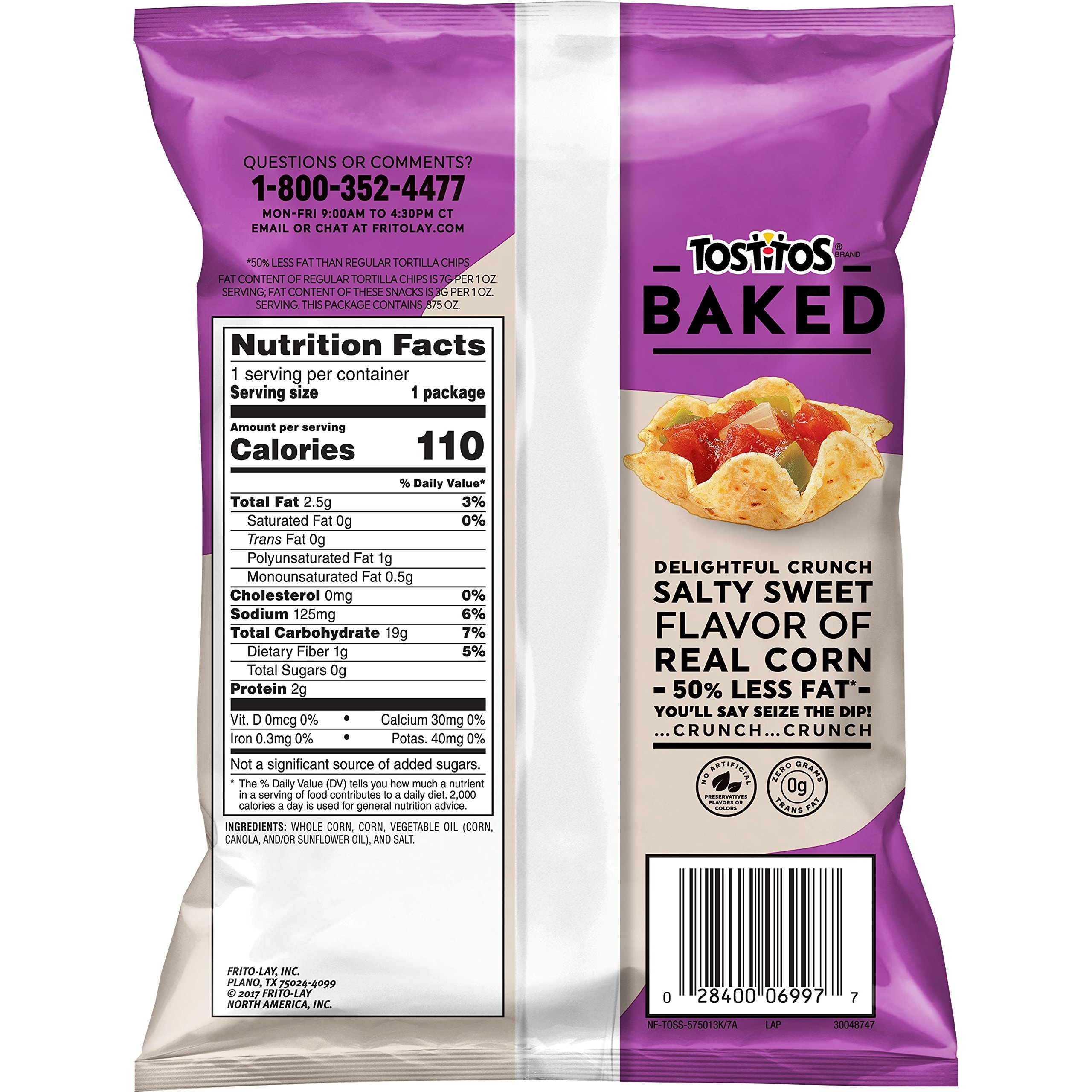 Baked Tostitos Oven Baked Scoops Tortilla Chips (Pack of 72) by Baked Tostitos (Image #2)
