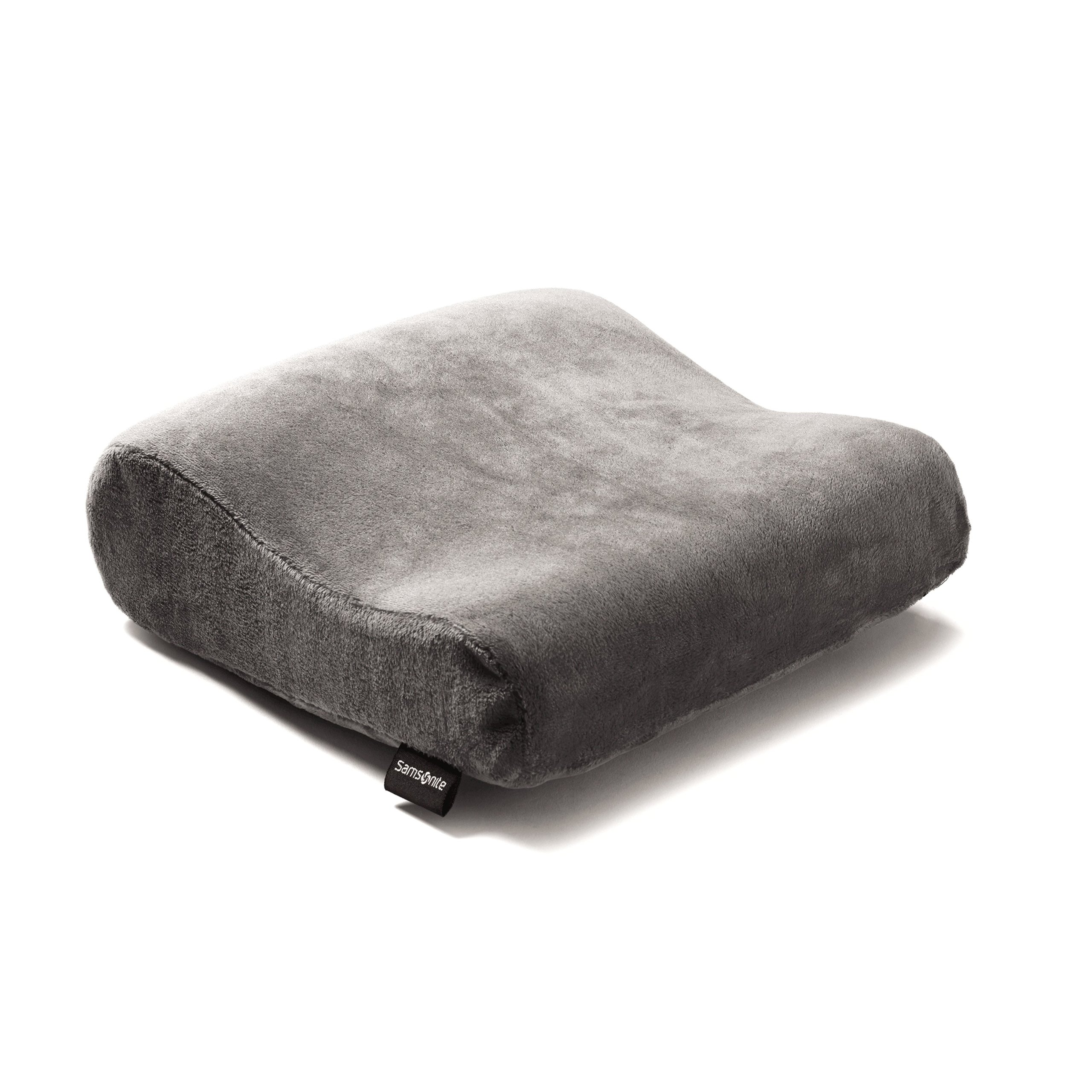 Samsonite Rectangle Memory Neck Pillow Charcoal by Samsonite
