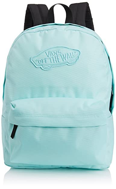 a14b3839c83 VANS Realm Backpack, Blue (Robin), One Size: Amazon.co.uk: Shoes & Bags