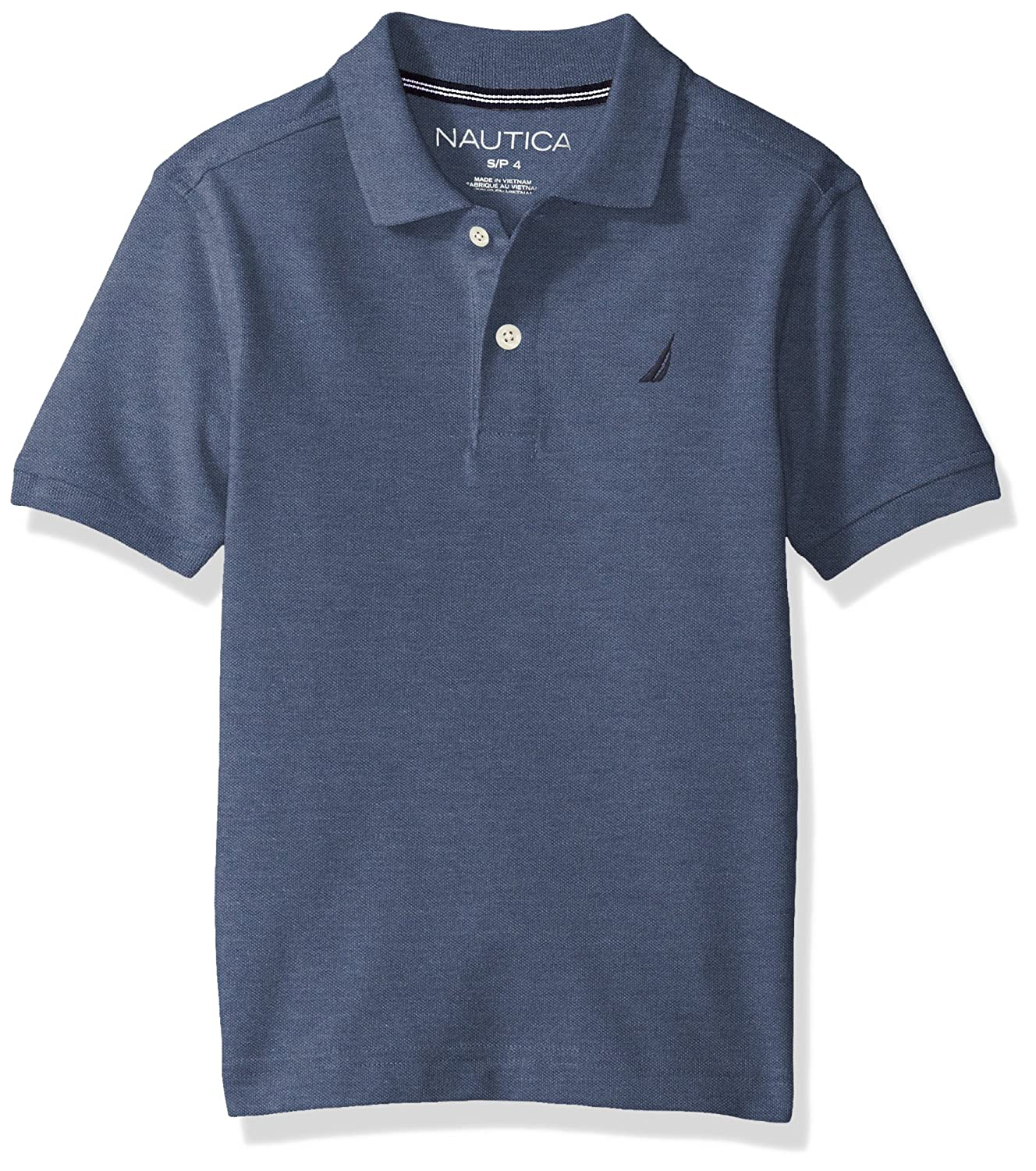 Nautica Boys Short Sleeve Deck Shirt Pique Polo 81697Q