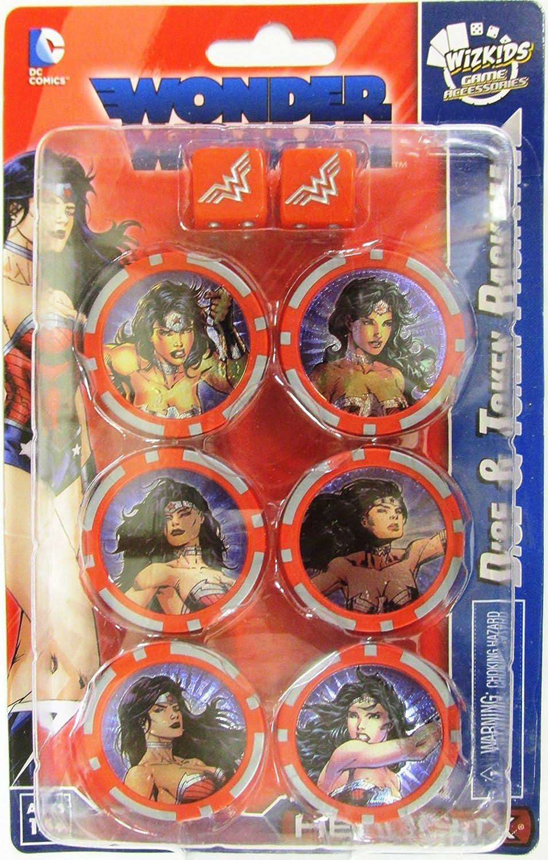 DC Hero Clix Wonder Woman Dice & Token Pack WIZKIDS