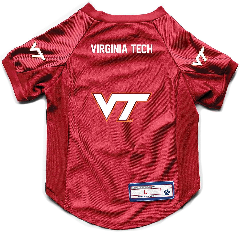 Medium Littlearth NCAA Virginia Tech Hokies Pet Stretch Jersey