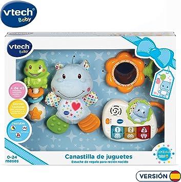 VTech - Canastilla de juguetes, estuche de regalo para bebé recién ...