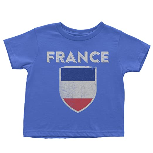 Amazon Com Nyc Factory France Flag Tee Infant T Shirt Baby Vintage