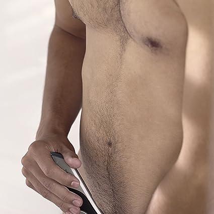 Philips Serie 7000 BG7025/15 - Afeitadora corporal con cabezal de recorte y de afeitado, 80 minutos de uso, apta para la ducha, color negro/dorado: Amazon.es: Salud y ...
