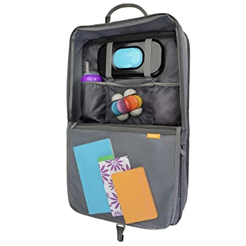 Amazon.com: BRICA I-Hide Car Seat Organizer with Tablet Viewer: Baby