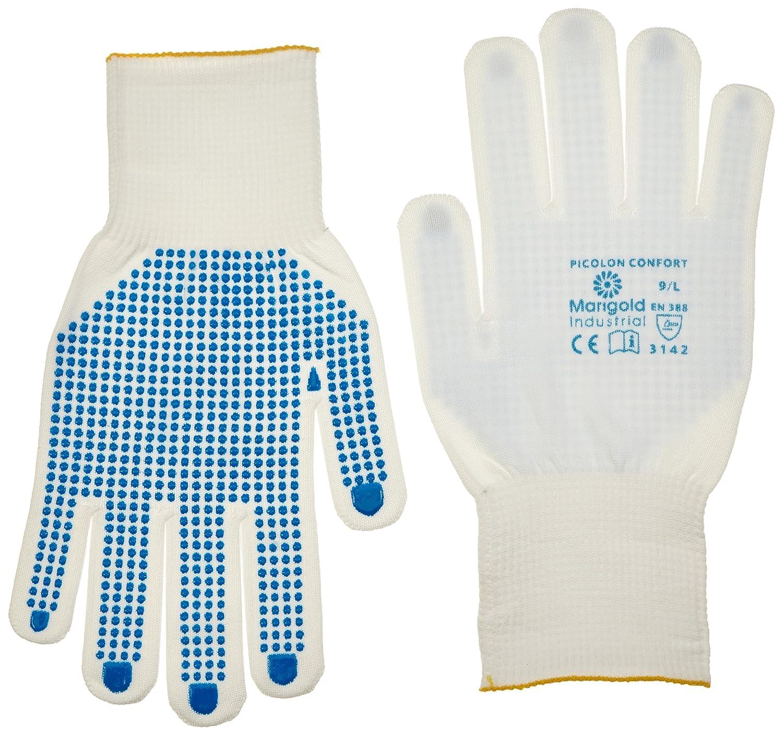Taille 7 Blanc Ansell Picolon Confort Gants pour usages multiples protection m/écanique Sachet de 12 paires