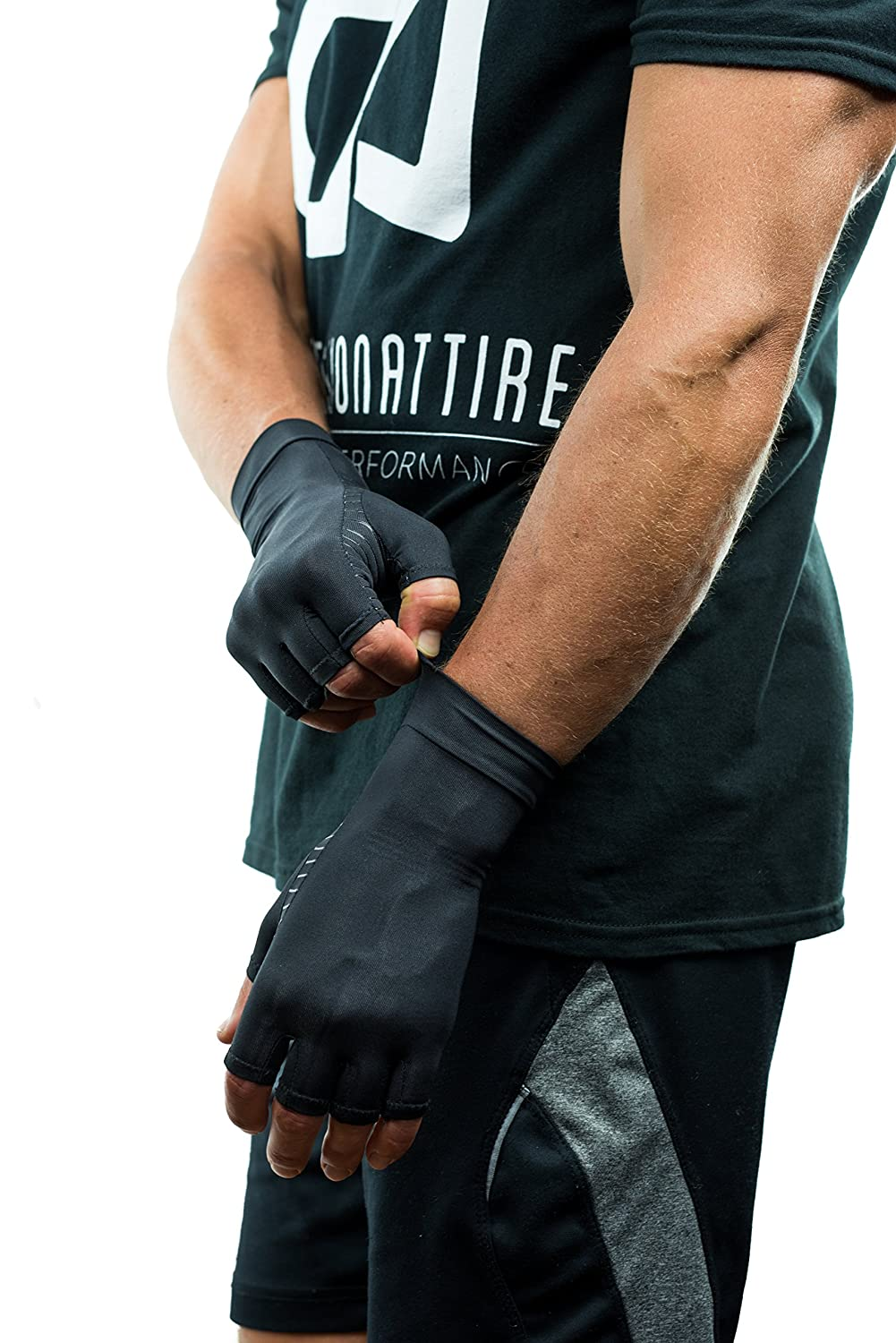 Driving gloves carpal tunnel - Amazon Com Compression Gloves Infused With Copper Arthritis Rheumatoid Carpal Tunnel Sports Muscle Joint Pain Men And Women Unisex
