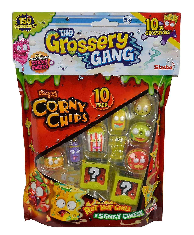 Simba 109291002 - Grossery Gang Sammelfiguren, 10er Pack: Amazon.de ...