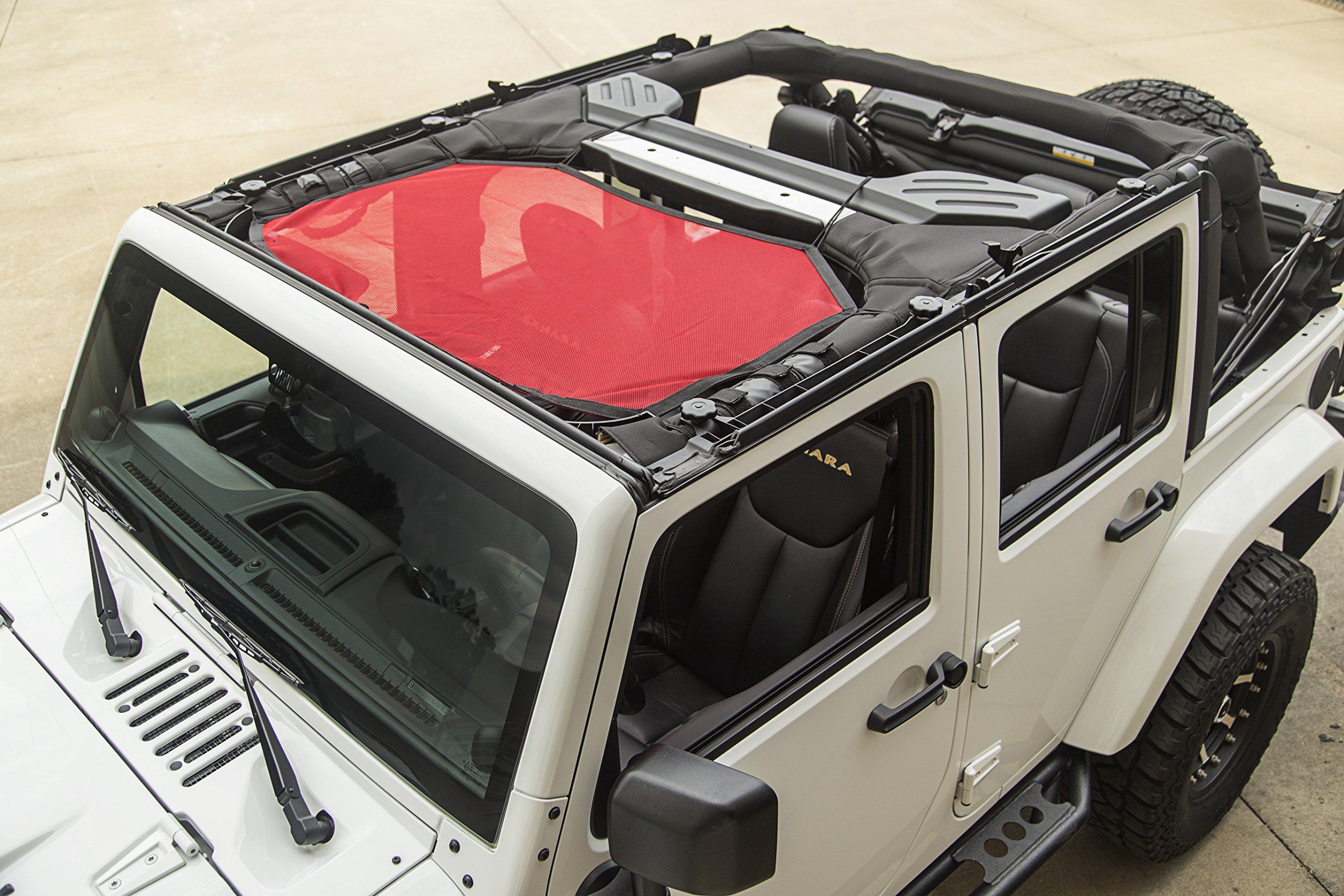Rugged Ridge Jeep Wrangler JK 2007-2018 Window Storage Sport Bar Bag 12107.05