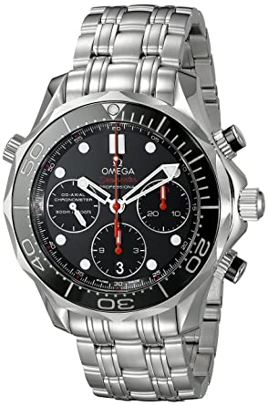 f1bfc5f453e Image Unavailable. Image not available for. Color  Omega Seamaster Diver  300 M Co-Axial ...