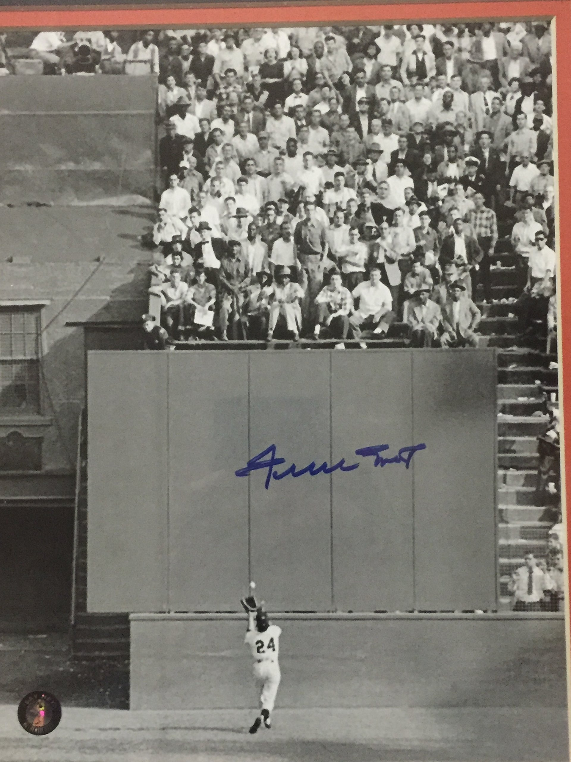 Framed Autographed/Signed Willie Mays San Francisco Giants Vertical 8x10 Baseball Photo Say Hey COA