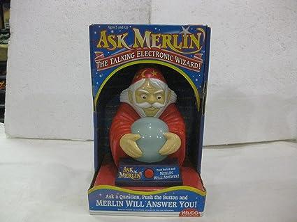 amazon ask merlin the talking electronic wizard toys games Merlin Plush Toy ask merlin the talking electronic wizard