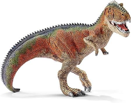 Reproducción de dinosaurio Giganotosaurus,Pintado a mano,Viaja en el tiempo