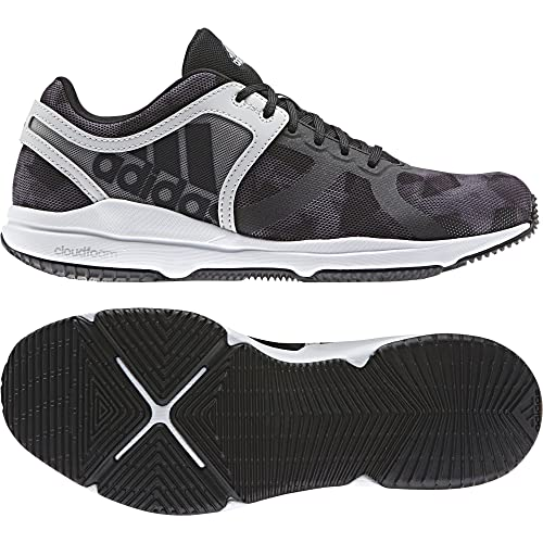 meet 4a659 0a21c Adidas Crazytrain CF W, Chaussures de Fitness Femme, Gris (GriunoNegbas