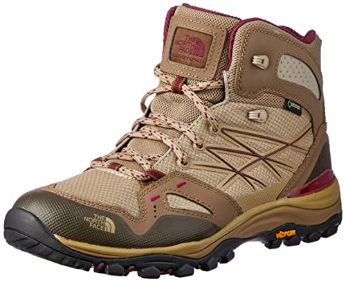 797e8d9b51b The North Face Hedghog Fastpack Mid GTX Boot Women s Dune Beige Deep Garnet  Red 9.5