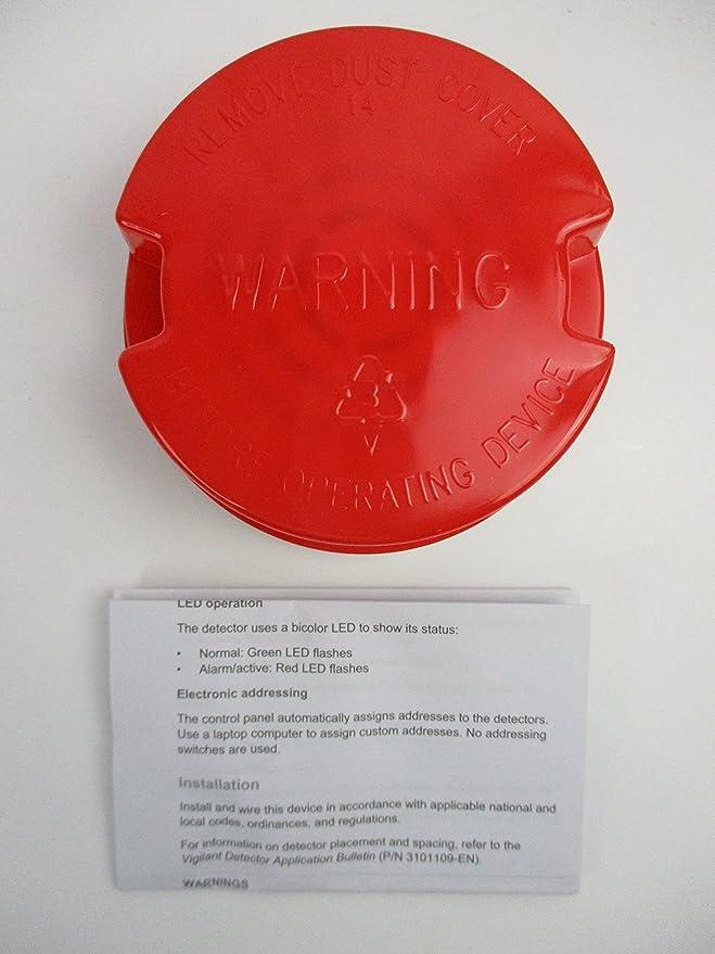 Edwards V-HFD - Detector de Calor Analógico Fijo Inteligente: Amazon.es: Electrónica