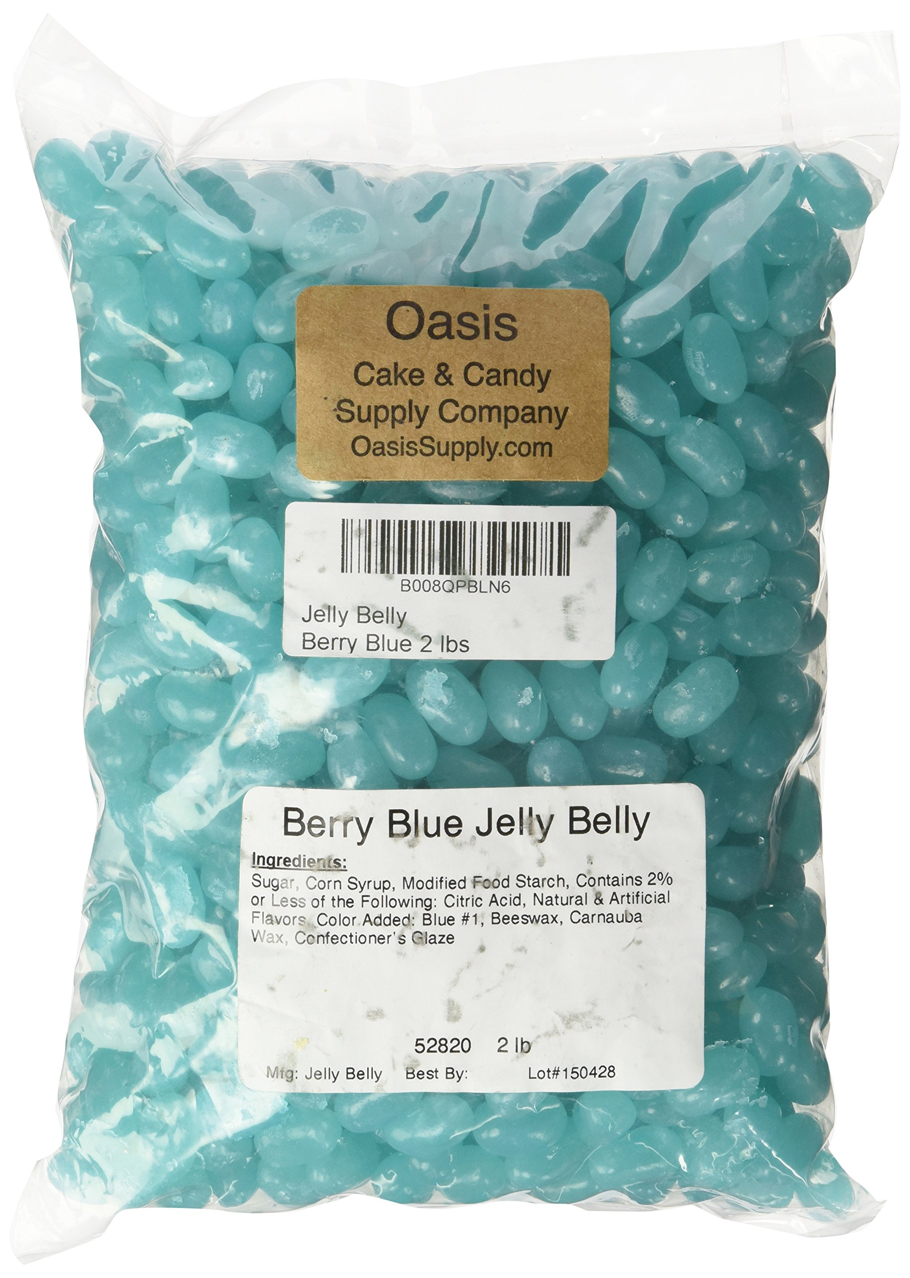 Jelly Belly Beans, Berry Blue, 2 Pound by Jelly Belly