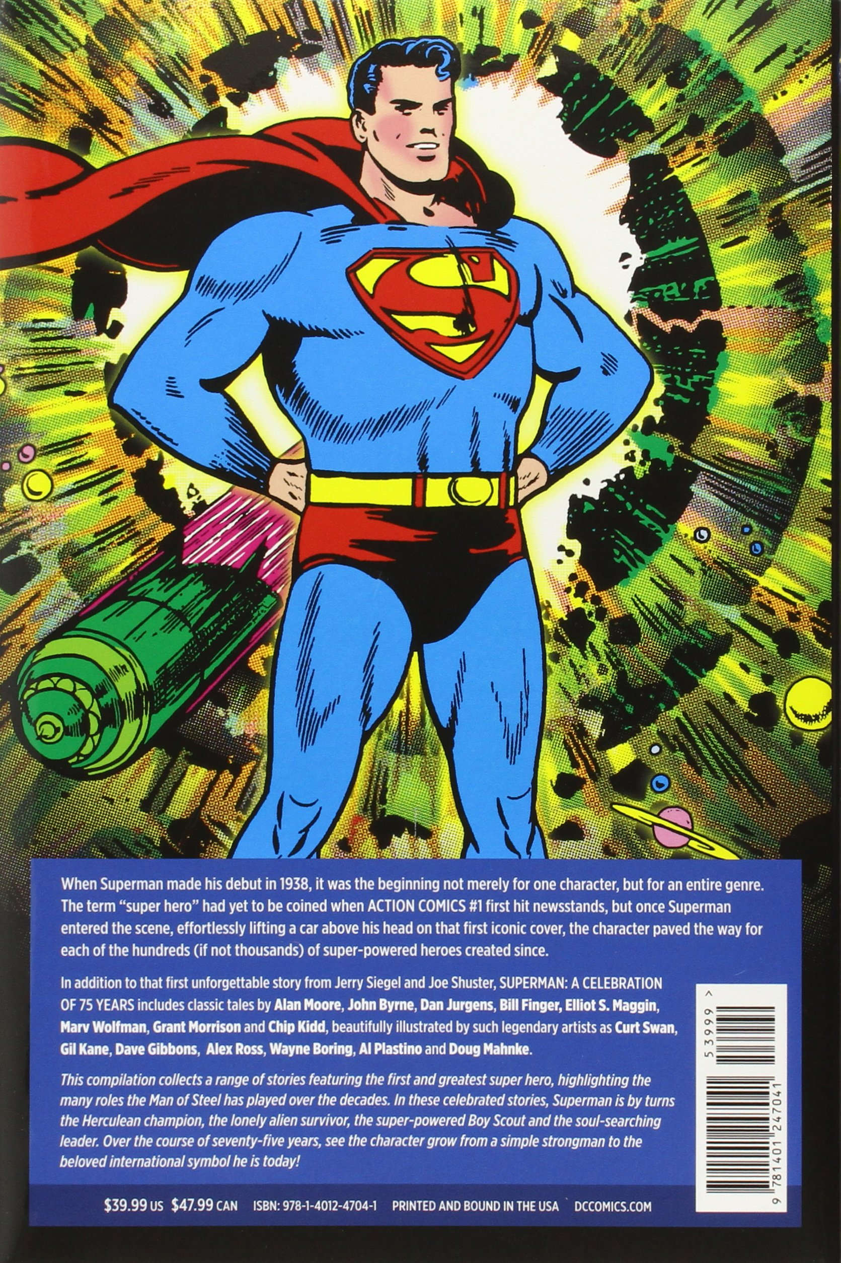Superman: A Celebration of 75 Years: Various: 9781401247041: Amazon ...