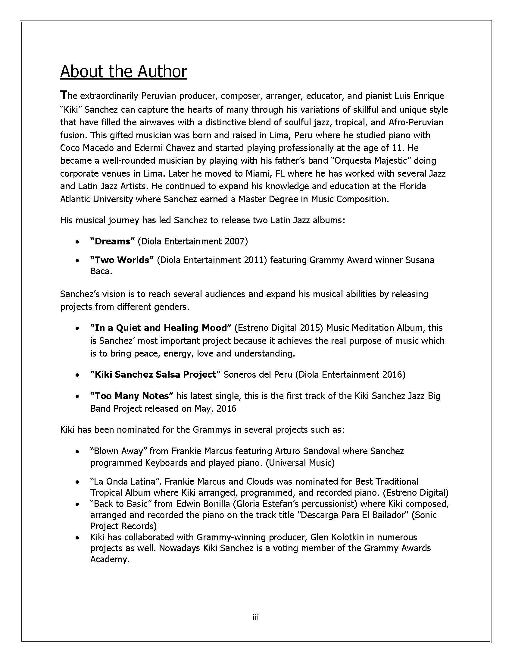 THE CONTEMPORARY MUSIC HARMONY BOOK: KIKI SANCHEZ: 9781532355479: Amazon.com: Books