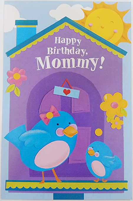 Happy Birthday Mommy Xoxo Greeting Card