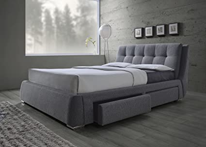 Amazon Com Coaster Home Furnishings 300523q Upholstered Bed Queen