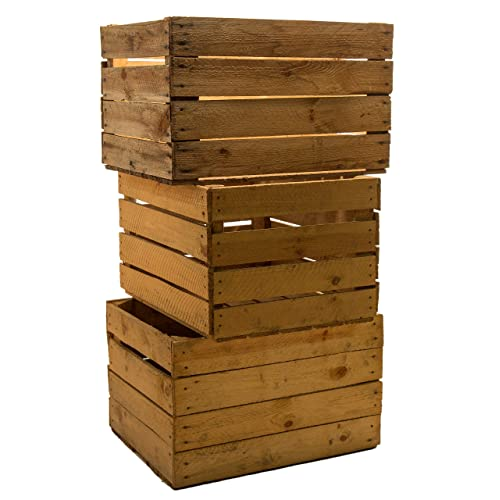 old wooden boxes amazon co uk