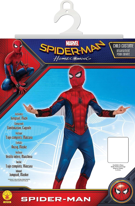 Rubie s-déguisement officiel - Marvel- Spiderman Déguisement Officiel-Taille  S- I-630730S  Amazon.fr  Jeux et Jouets 28194fc5545b