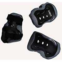 Aurion Children's Skate SG101 6pc Knee, Elbow and Wrist Protective Set for Kids Perfect for Roller Skates Skateboard Comes in