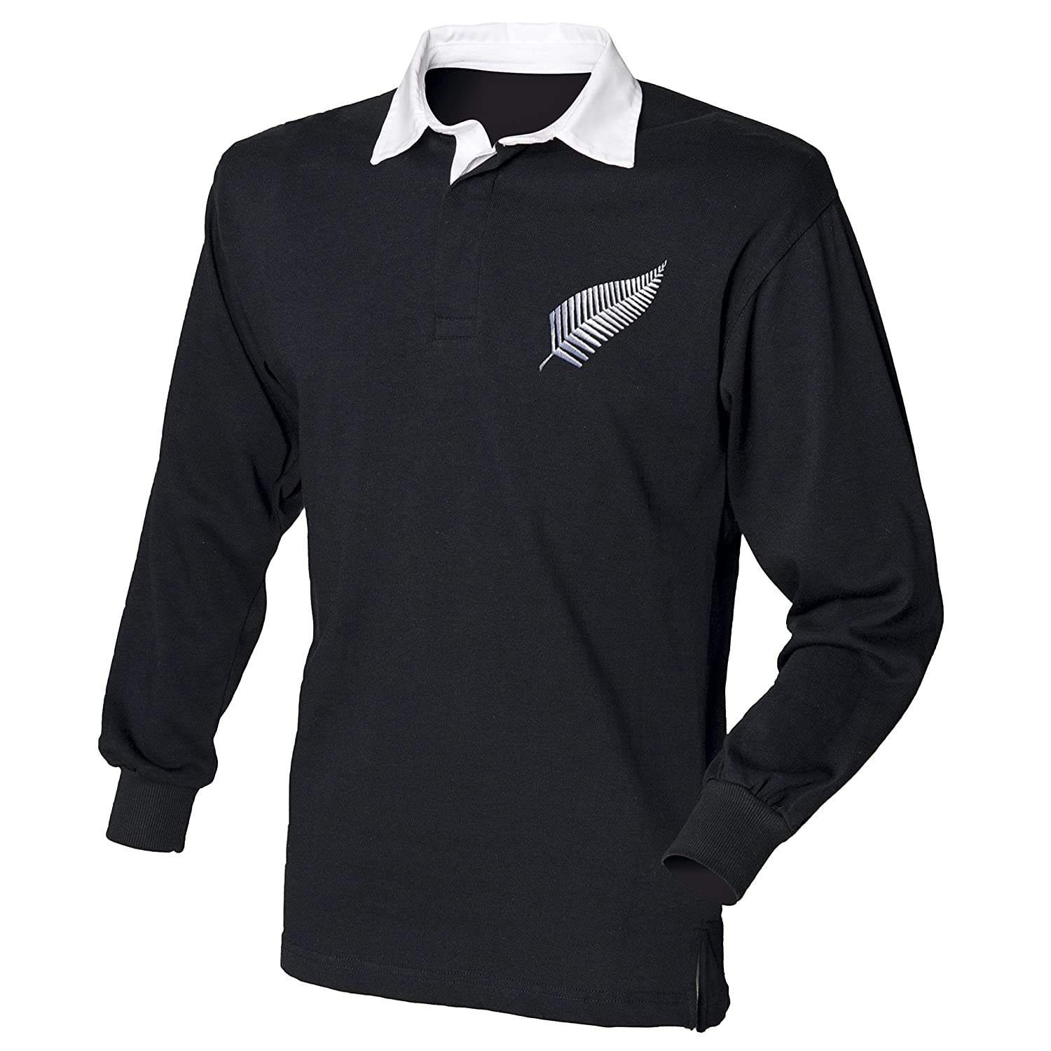 KC INKS New Zealand All Blacks Rugby Shirt with Free Personalization