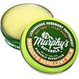 Murphy's Naturals Mosquito Repellent Balm | Anti-Mosquito Plant-Based Ingredients Include Lemongrass, Rosemary, Peppermint and Beeswax | Travel Size 2.0 oz