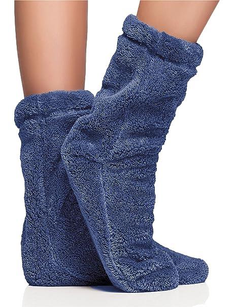 L&L Calcetines Pantuflas de Casa Invierno Mujer LL0029: Amazon.es: Ropa y accesorios