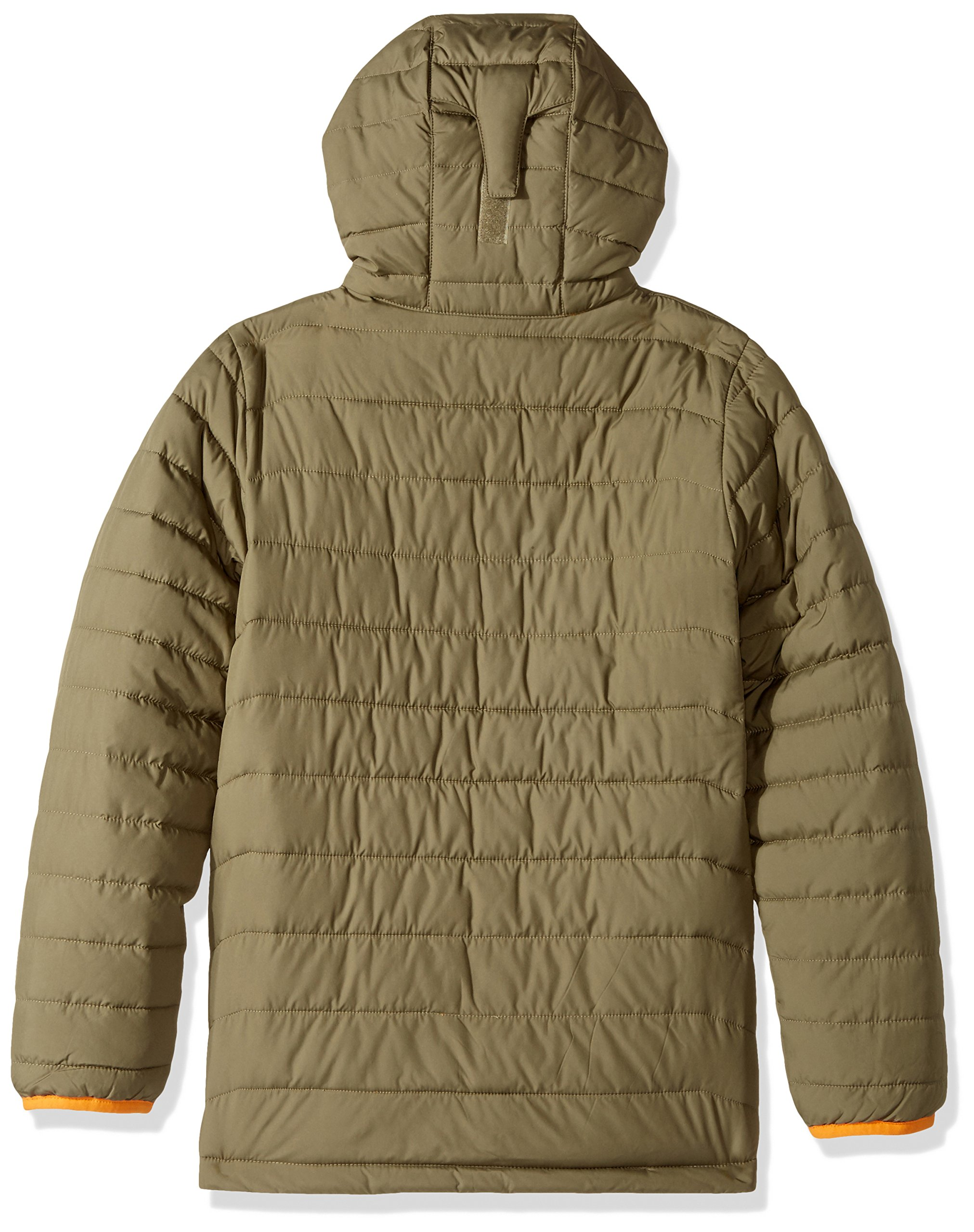 Columbia Big Boys' Powder Lite Puffer Jacket, Sage, Small by Columbia (Image #2)