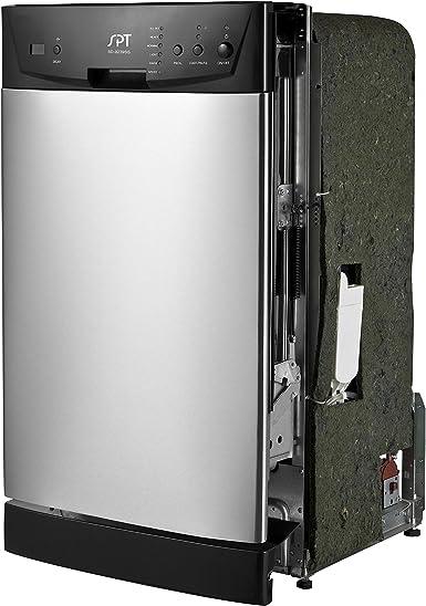 Amazon.com: SPT SD-9252SS Lavaplatos integrado Energy Star ...