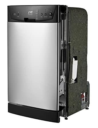 """Review SPT SD-9252SS Energy Star 18"""" Built-In Dishwasher, Stainless Steel"""
