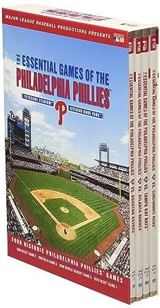 Amazon Essential Games Of The Philadelphia Phillies DVD