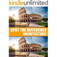 Spot the Difference Architecture!: A Hard Search and Find Books for Adults (Puzzle Books for Adults Book 2) book cover