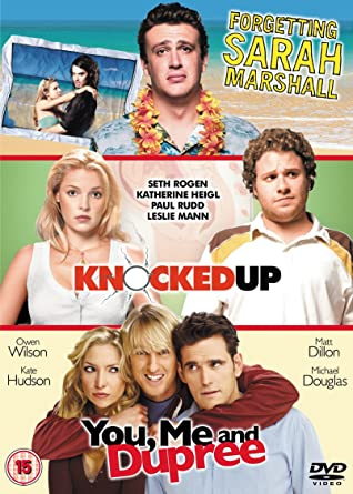 Forgetting Sarah Marshall Knocked Up You Me And Dupree Dvd Amazon