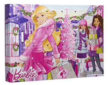 Calendrier Avent Barbie.Mattel Barbie X4848 Calendrier De L Avent