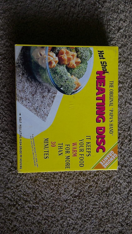 ホットショット暖房Disc – Microwaveableホットプレート。 B005F4F2C2