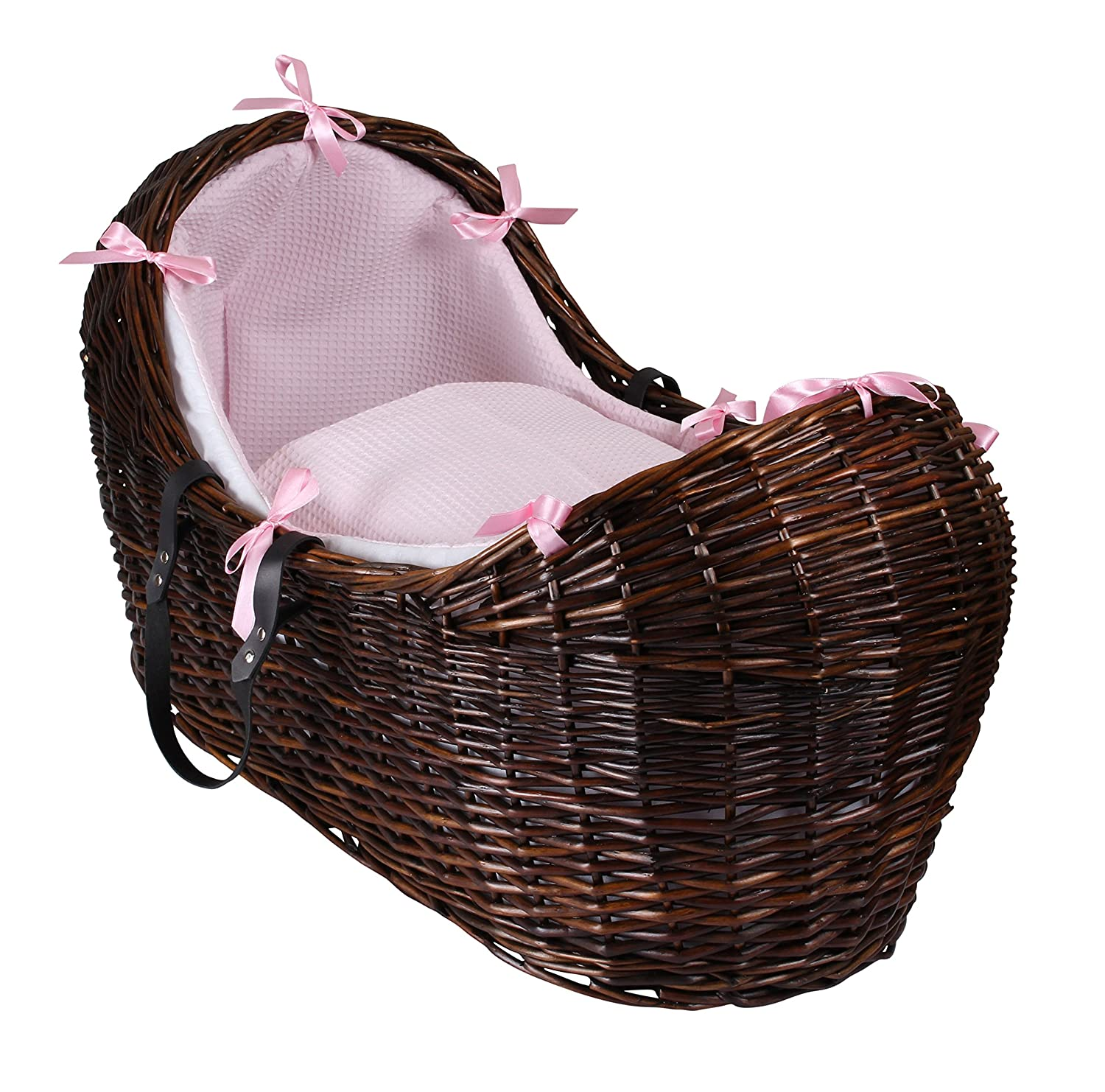 Waffle Dark Wicker Noah Pod - Pink Clair de Lune CL5538DP