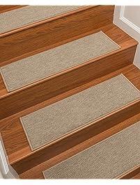 NaturalAreaRugs Kenya Carpet Stair Treads, Set Of 13, ...