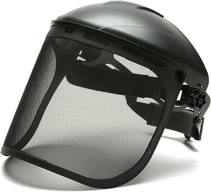 MSA Sordin Metal Mesh Visor 60070 Suitable for Petzl /& Husqvarna Helmets